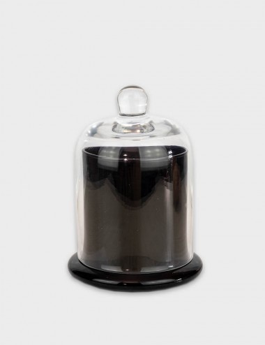 Cloche Black Gloss Candle