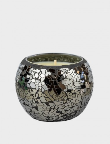 Mosaic Crackle Black Mirror...