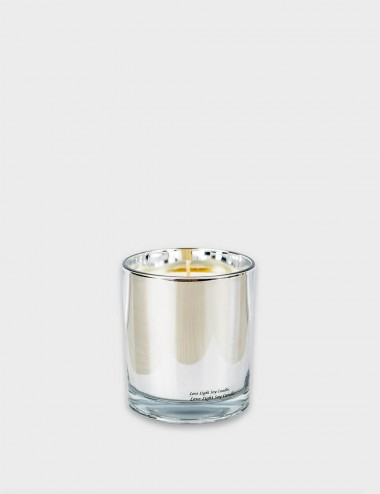 Candela Tumblers Silver Candle
