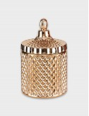 Geo Rose Gold Candle